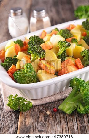 cooked vegetable