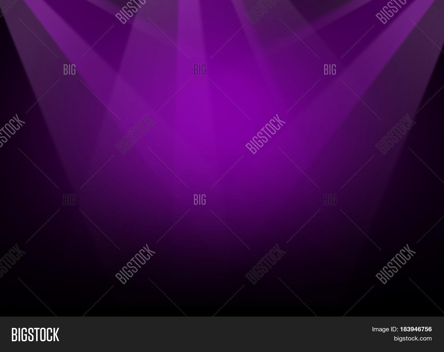 Flood Lights On Stage : The concert on stage background with flood lights stock