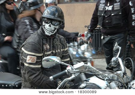 Motorcycle Rally In Wroclaw, Poland