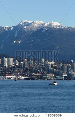 North Vancouver, Burrard Inlet, Coast Mountains