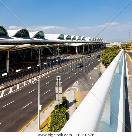 highroad of airport in shenzhen china.