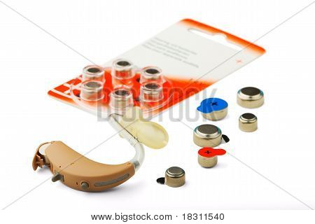 Hearing Aid And Battery