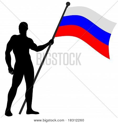 Flag Bearer Russia