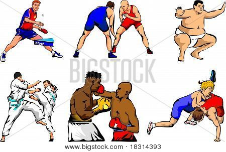 individual sports figures