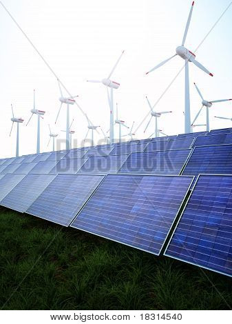 Solar and Wind Power Park