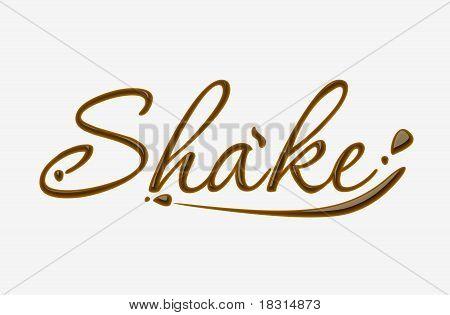 Chocolate Shake Text
