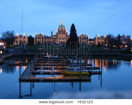 Victoria Canada Parliament Capital