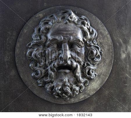 Bearded Man Relief