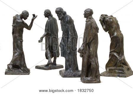 Rodin'S Statues