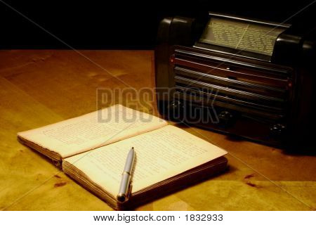 Book And Radio