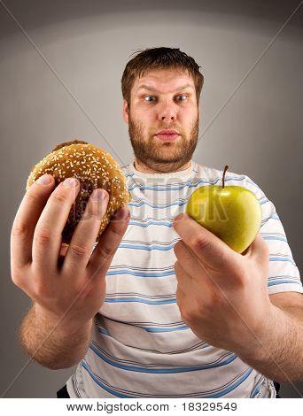 Fast Food Vs Healthy Food