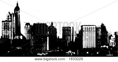 Silhouette Buildings
