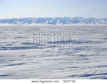 Arctic Mountain Landscape