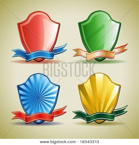 shield symbol icon vector illustration
