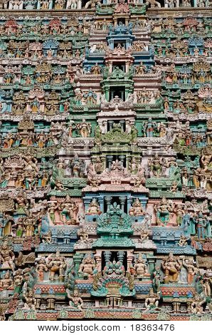 Chola kings  architecture at a south indian temple