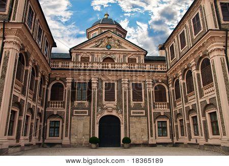 Favorite Castle was built by Johann Michael Ludwig Rohrer 1710 1730 in Rastatt-Förch. Germany.
