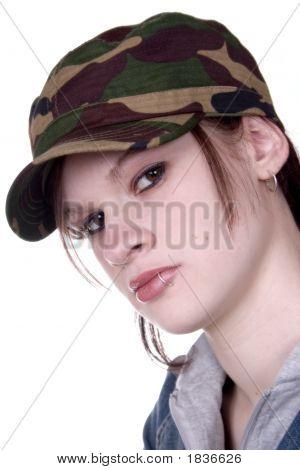 Camouflage Girl
