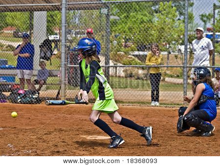 Girl's Softball Making A Hit