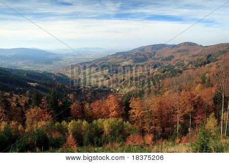 autumn in mountains
