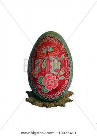 Easter coloured big egg