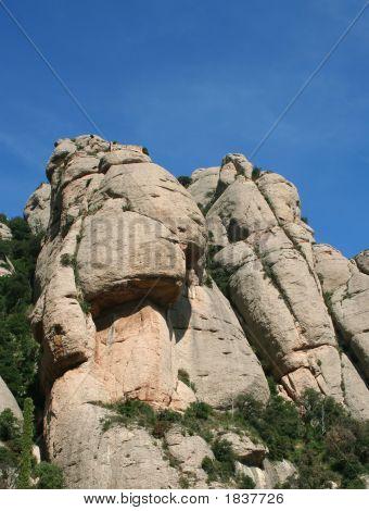 Montañas en Monserrat