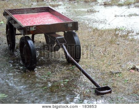 Red Wagon Rain 1