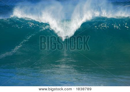 Large Wall Of Water