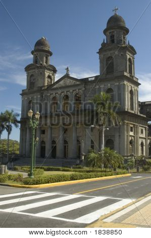Cathedral Of Santo Domingo Managua Nicaragua