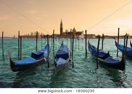 San Giorgio Maggiore church in Venice, Italy.