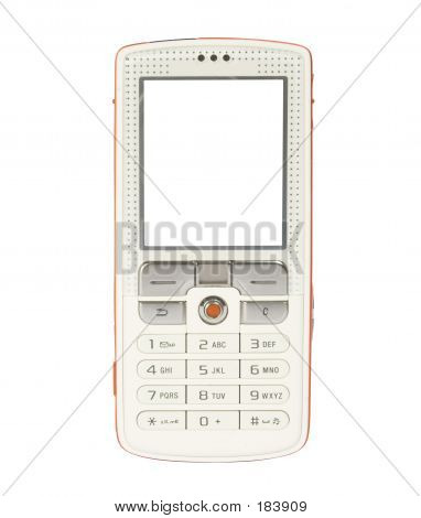 Mobile Phone With Space For Writing