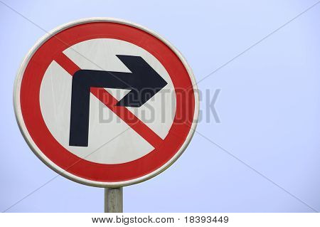 conspicuous traffic signs