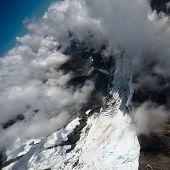 Glacier flight, New Zealand