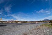 Highway Road Around Mountains
