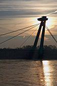 New Bridge In Bratislava Slovakia Europe poster