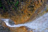 Nice Waterfall In Slovak Paradise Europe poster