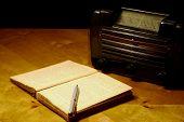 Book And Radio