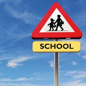 stock photo of driving school  - Back to school - JPG