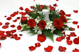 picture of wedding table decor  - wedding table decor  - JPG