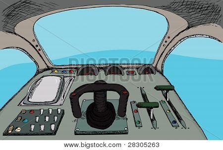 Cockpit retrô
