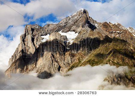 Wetterhorn Peak, Berner Oberland, Switzerland - UNESCO Heritage