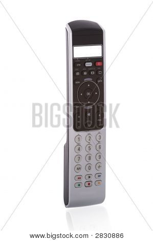 Close Up Of An Universal Teachable Remote Control