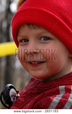Ckeeky Little Boy