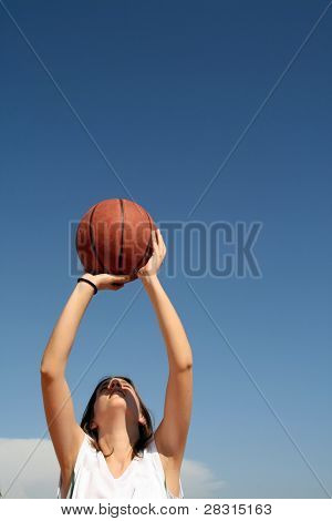 basketball girl player