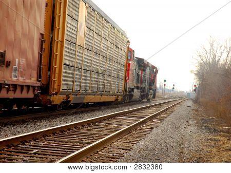 Tren hacia el sur