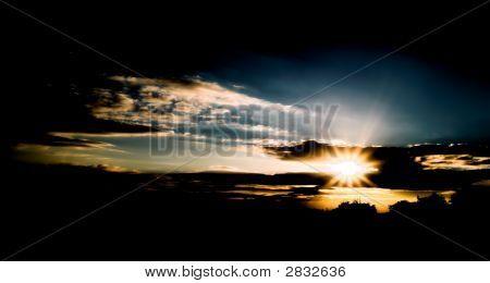 Dark Sun Set