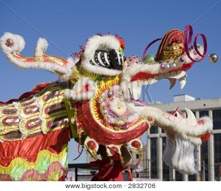 Chinese New Year Parade Dragon