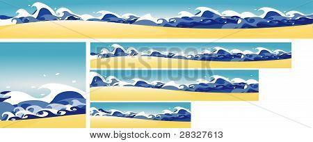 5 Mediterranean Banners