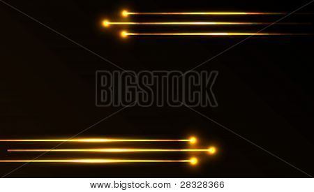 Vector Abstract Laser Background