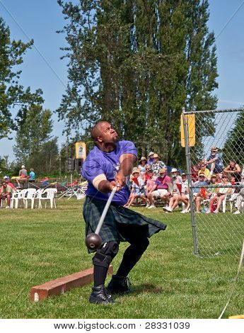 Mount Vernon, Wa - July 9 - Scottish Highland Games