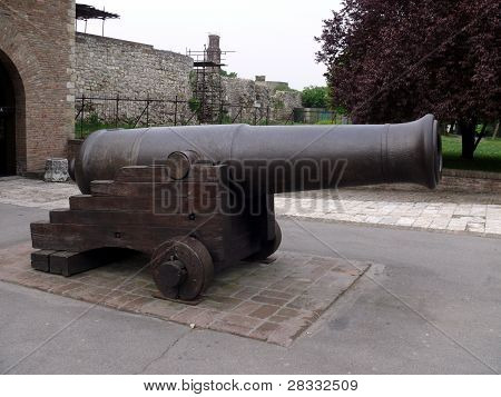 Cannon In Kalemegdan Fortress - Belgrade, Serbia